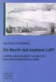 """Titelblatt """"Ein Recht auf saubere Luft?&quot"""