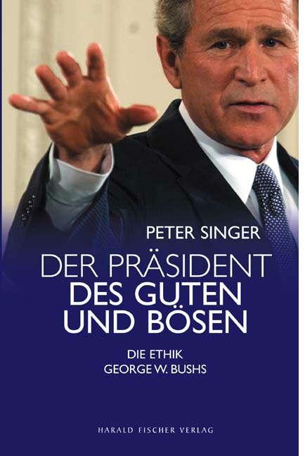"""Titelblatt """"Der Präsident des Guten und Bösen &quot"""