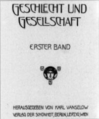 """Titelblatt """"Geschlecht und Gesellschaft"""""""