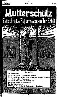 Titelblatt des 1. Jg., 2. Heft