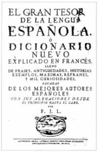 Franz Jacob Leys: Le livre instructif, ou nouveau dictionnaire françois-espagnol
