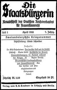 Titelblatt 'Die Staatsbürgerin'