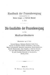 "Titelblatt ""Handbuch der Frauenbewegung"""