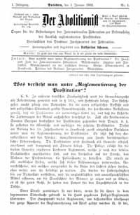 Titelblatt Der Abolitionist