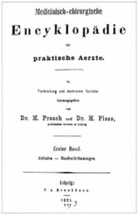 Titelblatt: Medicinisch-chirurgische Encyklopädie für praktische Ärzte