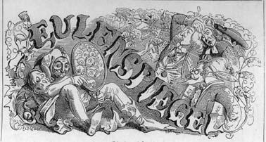 Titelblatt des »Eulenspiegel«