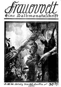 Titelblatt 'Frauenwelt'