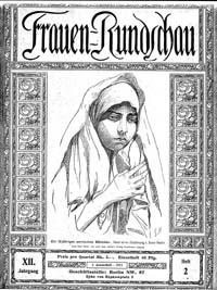 Titelblatt der 'Frauen-Rundschau'