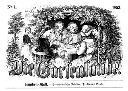 Titelblatt der »Gartenlaube«