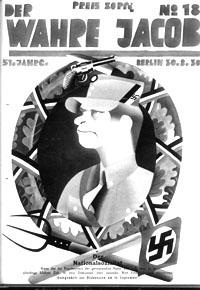 "Titelblatt ""Der Wahre Jacob"""