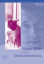 """Titelcover """"Henry Spira und die Tierrechtsbewegung  """""""