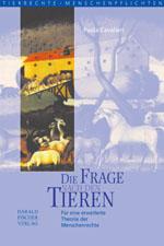 """Titelcover """"Die Frage nach den Tieren """""""