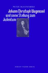 """Titelblatt """"Johann Christoph Wagenseil und seine Stellung zum Judentum"""""""