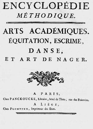 Titelblatt: Encyclopédie méthodique