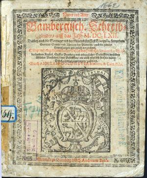 Bild: Geystliche Lieder, 1566